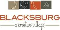 Blacksburg A Creative Place Logo
