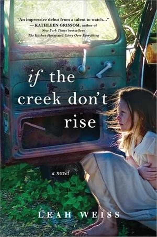 "Book cover of girl under a tree with book title ""If the Creek Don't Rise"""