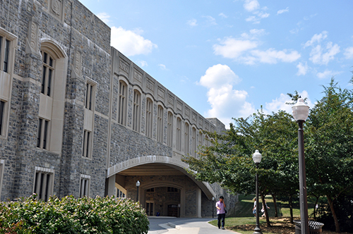 Burruss Hall Virginia Tech