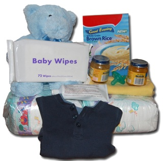 Baby supplies for an emergency kit.