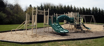 Cedar Hill Park playground equipment