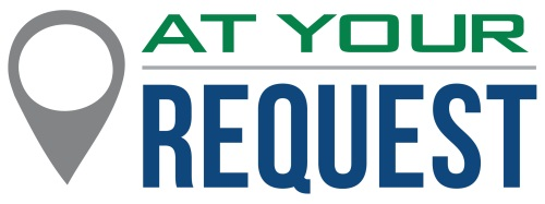 At Your Request logo